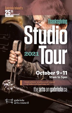 gabriola island studio tour 2021